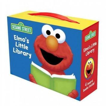 Elmo's Little Library: Elmo's Mother Goose, Elmo Says, Elmo's ABC Book, Elmo's Tricky Tonge Twisters (Sesame Street)
