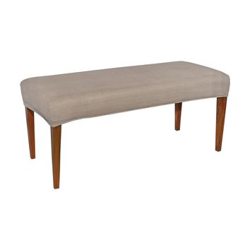 7011-121-F Couture Covers Double Bench Cover - Light Brown