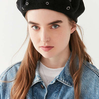 Scattered Grommet Beret | Urban Outfitters