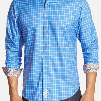 Men's Robert Graham 'Fanning' Classic Fit Check Sport Shirt,