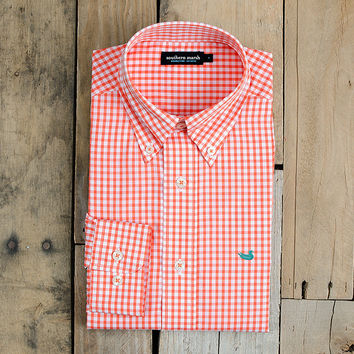 The Nashville Gingham - Wrinkle Free - Collegiate - Mercer University