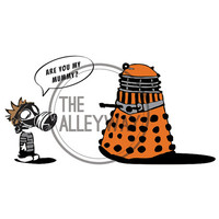 Doctor Who-Are You My Mummy Dalek- Dr Who Poster, Printable, Digital Download