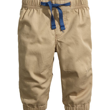 H&M - Pull-on Pants - Beige - Kids