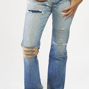 Salvaged Jeans