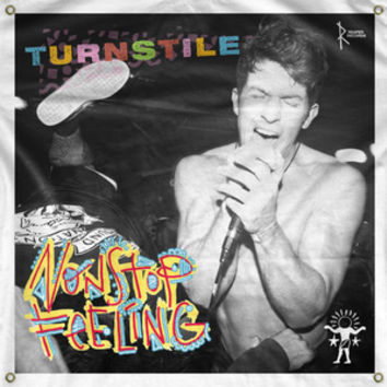 "Reaper Records — Turnstile ""Nonstop Feeling"" Big Flag"