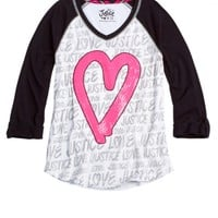 Brand Icon Tee   Girls {category} {parent_category}   Shop Justice