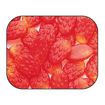 Haribo Gummi Strawberries Candy: 5LB Bag