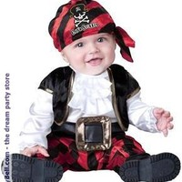 Cap'n Stinker Pirate Infant / Toddler Costume for Halloween