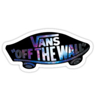 Vans logo galaxy by georgeybro