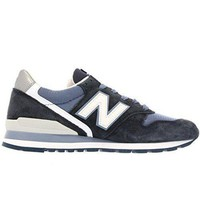 QIYIF new balance m996cpi navy white suede mens running shoes made in usa