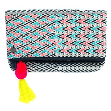 Holiday Foldover Clutch