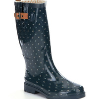 Chooka Classic Dot Rain Boots | Dillards