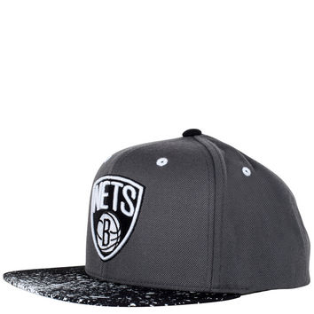 Caps - Snap Back - Mitchell and Ness Brooklyn Nets Summer 2013 NBA Snapback Cap - Grey Black Splatter - DTLR - Down Town Locker Room. Your Fashion, Your Lifestyle! Shop Sneakers, Boots, Basketball shoes and more from Nike, Jordan, Timberland and New Balanc