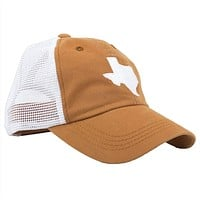 Texas Austin Gameday Trucker Hat in Burnt Orange by State Traditions