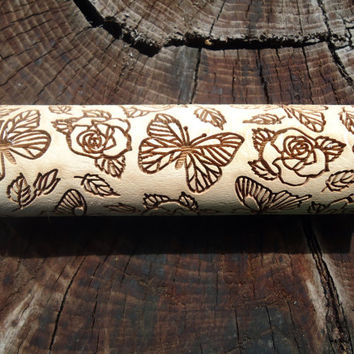 SALE rolling pin wedding gift Moms gift Gift for her Womens gift Sister gift Cookie stamp Grandmother gift Baking gift Engraved rolling pin