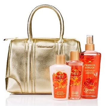 Victoria's Secret - VS Fantasies Handbag Gift Set - Passion Struck (Gold)
