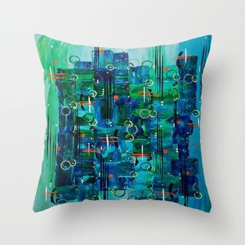 :: Midnight Call :: Throw Pillow by :: GaleStorm Artworks ::