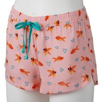SO Pajamas: Woven Pajama Shorts