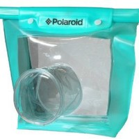 Polaroid Dive Rated Waperproof Pouch For The Nikon 1 J1, J2, J3, V1, V2, V3, S1, D40, D40x, D50, D60, D70, D80, D90, D100, D200, D300, D3, D3S, D700, D3000, D5000, D3100, D3200, D3300, D7000, D5100, D4, D4s, D800, D800E, D600, D610, D7100, D5200, D5300 Dig