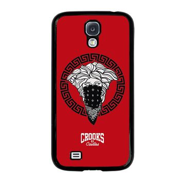 CROOK AND CASTLES BANDANA RED Samsung Galaxy S4 Case