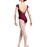 Bloch Ladies Triangle Back Cap Sleeve Leotard