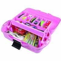Flambeau 1-Tray Tackle Box, Pink - Walmart.com