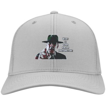 R. Lee Ermey : Full Metal Jacket : CP80 Port & Co. Twill Cap
