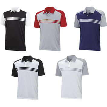 ADIDAS CLIMACOOL SPORT CLASSIC 3-STRIPES POLO