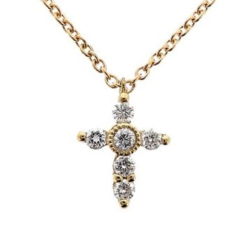 Bony Levy Diamond Cross Necklace (Nordstrom Exclusive) | Nordstrom