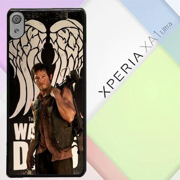 The Walking Dead Daryl Dixon Wings Z2791 Sony Xperia XA1 Ultra Case
