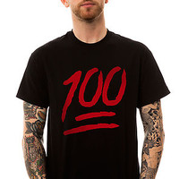 The One Hundred Tee in Black