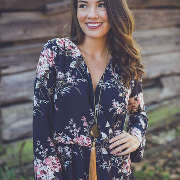 Fall for Florals Romper