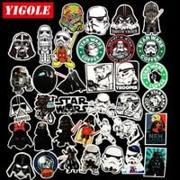 35pcs/lot Sticker Star Wars Laptop Skateboard Suitcase Waterproof Stickers