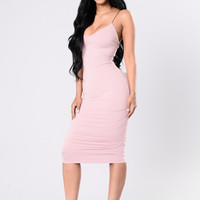 Come For Me Dress - Mauve