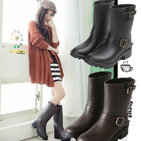 European Boots Best Selling Korean Lady Fashion New Arrival Short Rainboots Fashion Women's Casual Rain Boots Elegant Shoe S100