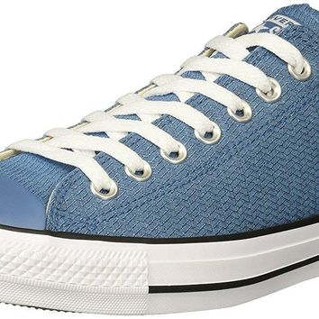 ... 7d52a f47aa Converse Mens Chuck Taylor All Star Basketweave Low Top  Sneaker professional sale ... 4134bf5056