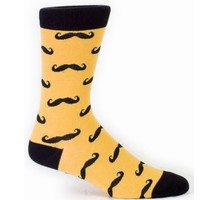 Men's Mustache Socks by Sock it To Me