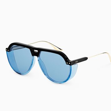 """DiorClub3"" sunglasses, blue - Dior"