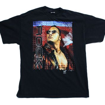 WWF THE ROCK 'THE GREAT ONE' T-SHIRT XL