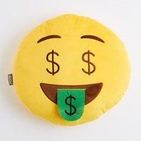 Dollar Sign Smiley Throw Pillow | Pillows | rue21