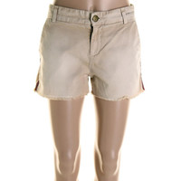 Current/Elliott Womens The Smart Twill Distressed Casual Shorts
