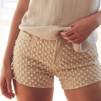 BDG Girlfriend High-Rise Denim Short - Pearl | Urban Outfitters