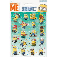 The Minions Party Stickers [4 Per Pack]