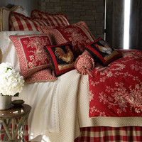 Sherry Kline Home Collection French Country Bed Linens & Houndstooth Quilt Sets