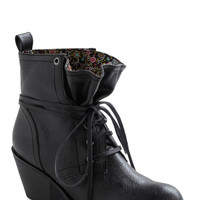 Loop the Cute Boot in Black | Mod Retro Vintage Boots | ModCloth.com