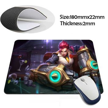 Vi Skin League of Legends & Others Custom Mouse Pad Computer Gaming 220mmX180mm