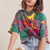 Vintage '90s Cropped Printed Tee | Urban Outfitters