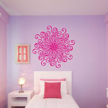 ik360 Wall Decal Sticker mandala hamsa hand Buddha Hindu Hinduism Ornament