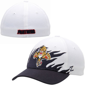 Florida Panthers Zephyr Flame Flex Hat – White