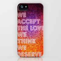 The Love We Deserve Revisited iPhone Case by Caleb Troy   Society6